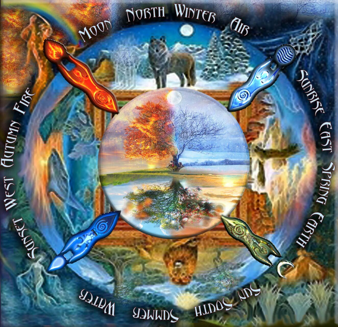 The medicine wheel of time and karma blueprints for butterflies the medicine wheel of time and karma malvernweather Images